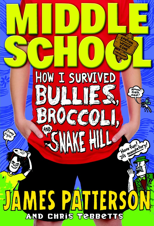 Book cover from James Patterson's Middle School Book Series